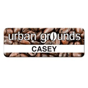 "Personalized Full Color Name Badge (2.75"" x 1.00"")"