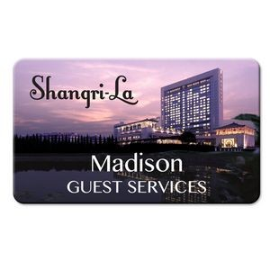 "Personalized Full Color Name Badge (2.75"" x 1.625"")"