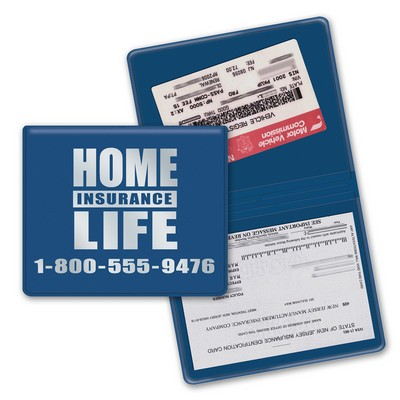 "License and Insurance Card Holder (7 1/2""x4 1/2"")"